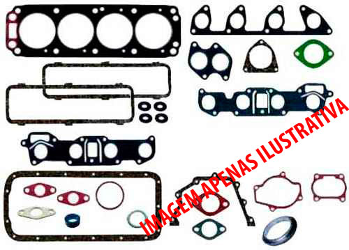 Jg de Junta do Motor 1.4 1.6 - Kit Motor - Chevette - Alcool