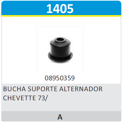 Bucha Superior do Alternador - Alternador - Chevette - Cada