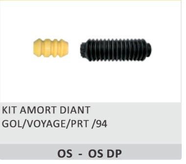 KIT DO AMORTECEDOR VW DIANTEIRO COMPLETO SIMILAR - BATENTE A