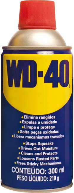 WD 40 300ML DESENGRIPANTE (ANTI-FERRUGEM) - ANTI-CORROSIVO -