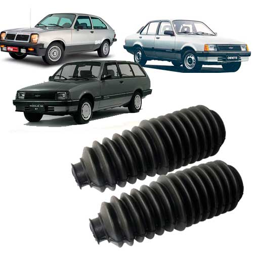 Kit Coifa Caixa Direção Chevette/chevy/marajó Todos - BUCHAS - UNIAO BORRACHAS - UNIDADE   - Cod. SKU: MLB762347725