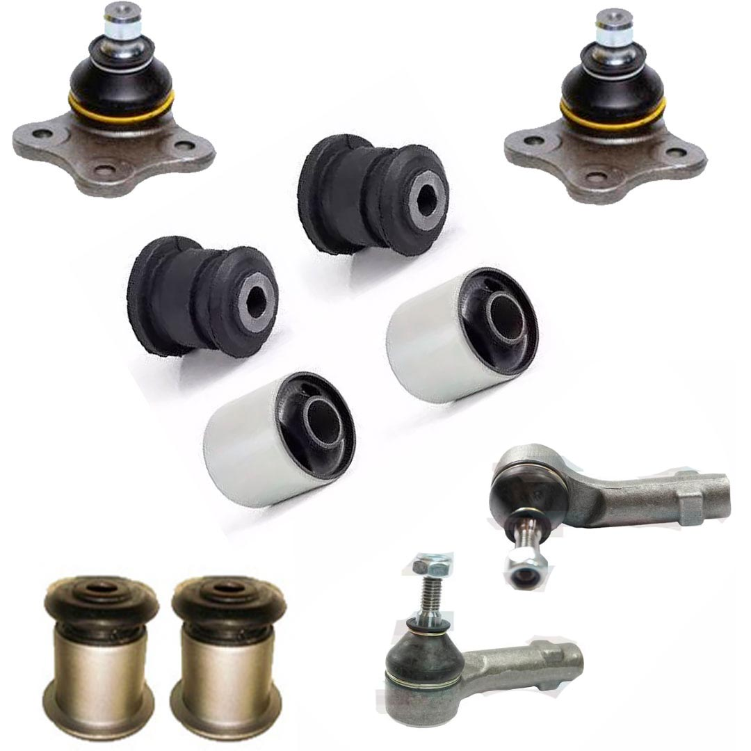 Kit Bucha Pivo Terminal Balança Bandeja Dianteira Ford Ka 2007 A 2014 - BUCHAS - Expedibor - UNIDADE   - Cod. SKU: 48222