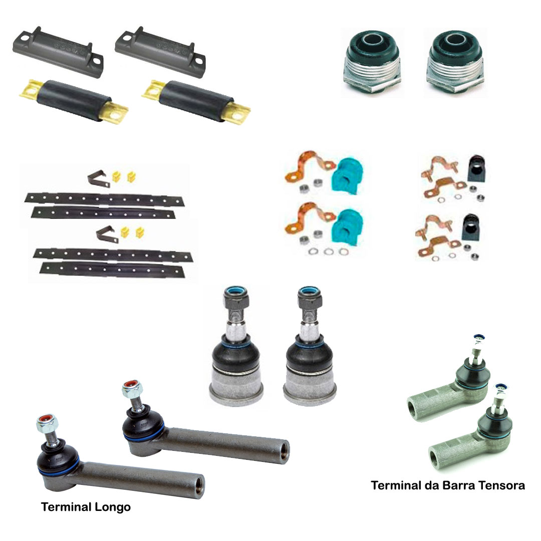 Kit Suspensao Uno Fiorino Elba Pivos terminal Buchas 92 a 2012 - TERMINAL DA DIREÇÃO - Expedibor - UNIDADE   - Cod. SKU: MLB849731430longo