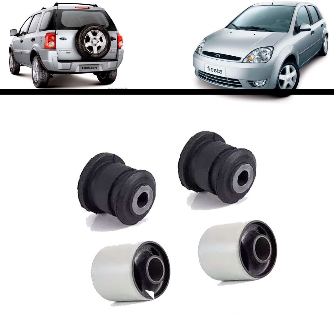 Kit Bucha Balança Bandeja Dianteira Ford Ka Fiesta Ecosport - BUCHAS - UNIDADE   - Cod. SKU: MLB783656698