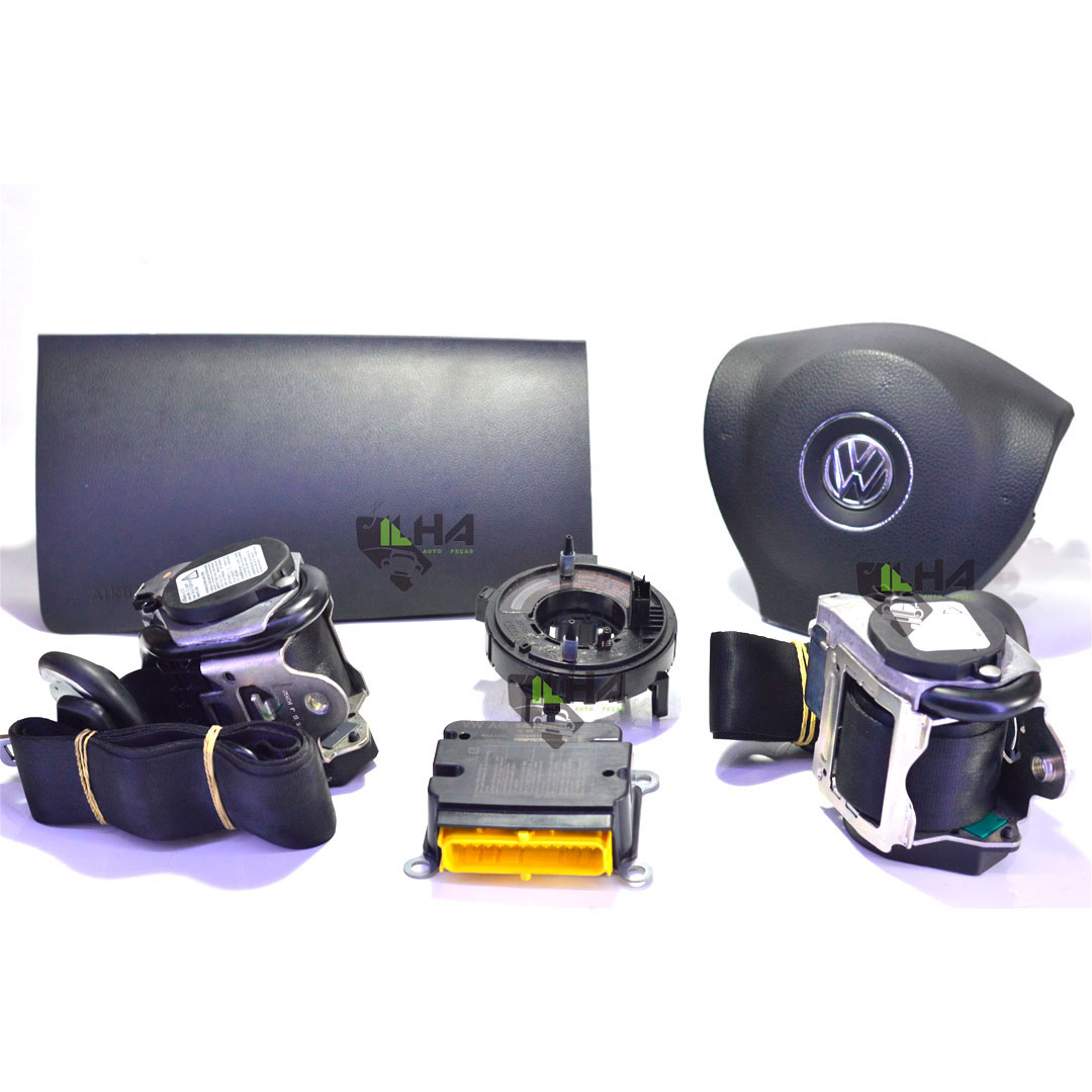 KIT AIRBANG COMPLETO FOX - AIR BANG - KIT - <B>VW FOX de 2012 até 2017</B> - SKU: 5U1880DUP52