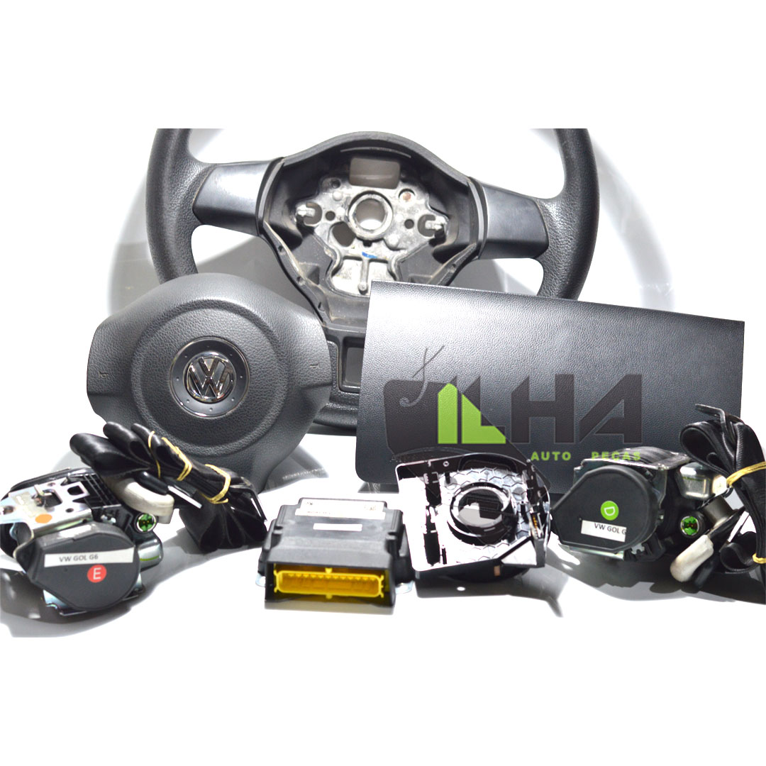 KIT AIR BANG COMPLETO G6 - AIR BANG - KIT - <B>VW VOYAGE de 2015 até 2017</B>  - Cod. SKU: 5U1880DUP43